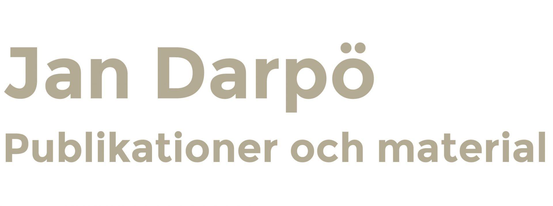 Jan Darpö